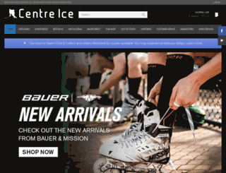centreice.co.nz screenshot