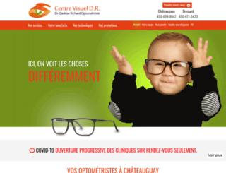 centrevisueldr.com screenshot