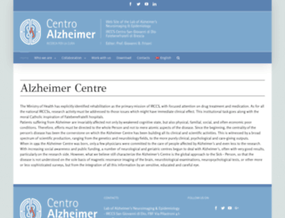 centroalzheimer.org screenshot