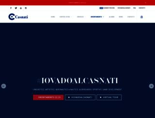 centrocasnati.it screenshot