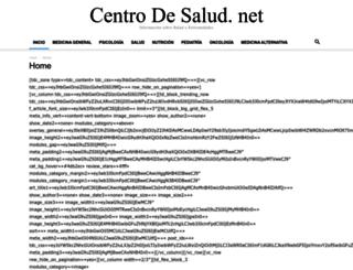 centrodesalud.net screenshot