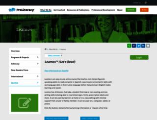 centrolatinoliteracy.org screenshot