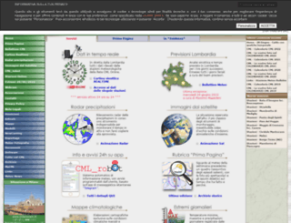 centrometeolombardo.com screenshot