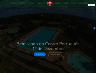 centroportugues.com.br screenshot