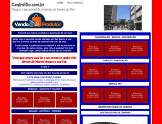 centrorio.com.br screenshot