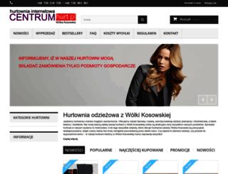 centrumhurt.pl screenshot