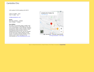 centsiblechicinc.googlepages.com screenshot