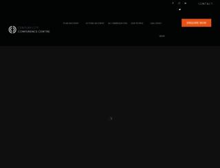 centurycityconferencecentre.co.za screenshot