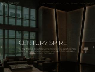 centuryspire.com screenshot