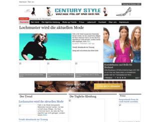 centurystyle.net screenshot