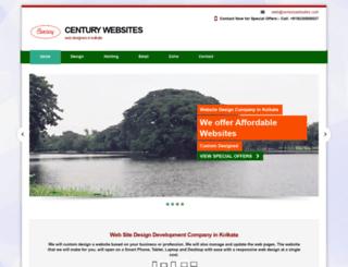 centurywebsites.com screenshot