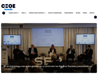 ceoe-tenerife.com screenshot