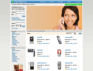 ceptelefoncu.com screenshot