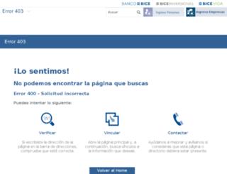cer.bice.cl screenshot