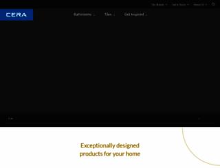 cera-india.com screenshot