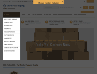 cera-packaging.com screenshot