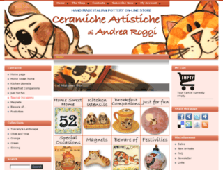 ceramicheroggi.com screenshot