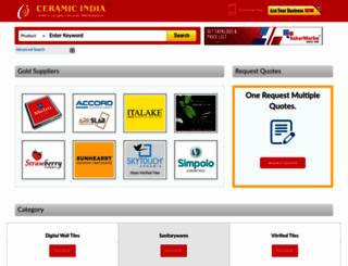 ceramicindia.com screenshot