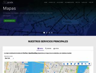 cercalia.com screenshot