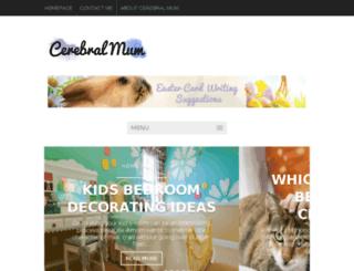 cerebralmum.com screenshot