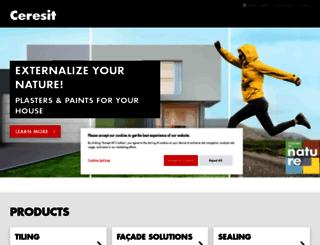ceresit.com screenshot