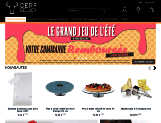 cerfdellier.com screenshot