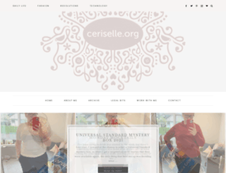 ceriselle.org screenshot