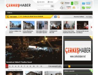 cerkeshaber.net screenshot
