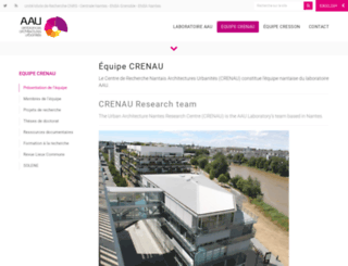 cerma.archi.fr screenshot