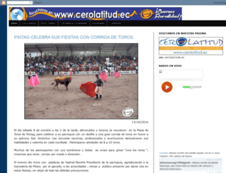 cerolatitudcomunidad.blogspot.com screenshot