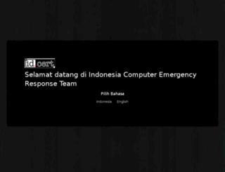 cert.or.id screenshot