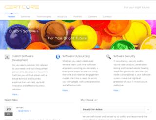 certcore.com screenshot