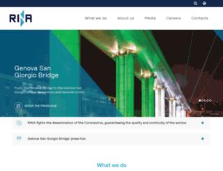 certification.rina.org screenshot