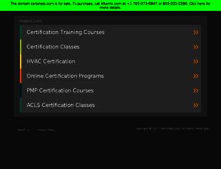 certshelp.com screenshot