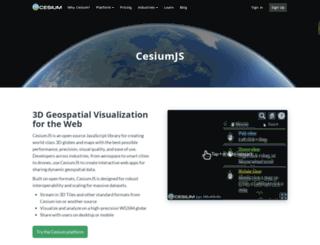 cesiumjs.org screenshot