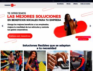 cestaticket.com screenshot