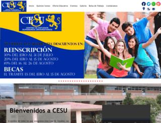 cesu.com.mx screenshot
