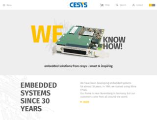 cesys.com screenshot