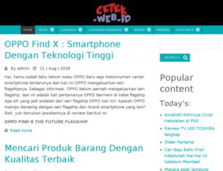 cetek.web.id screenshot