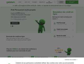 cetelem.net screenshot
