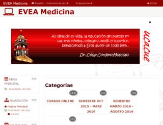 cevmedicina.ucacue.ec screenshot