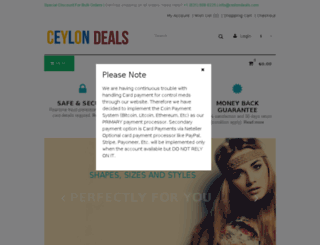 ceylondeals.com screenshot