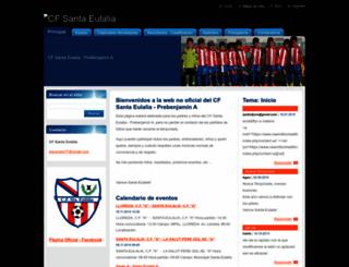 cf-santa-eulalia.webnode.es screenshot