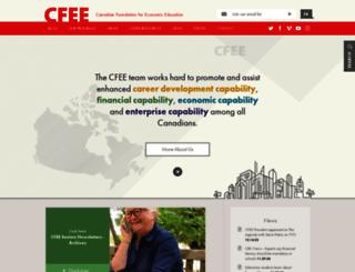 cfee.org screenshot