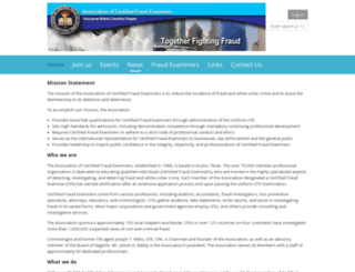 cfevancouver.com screenshot
