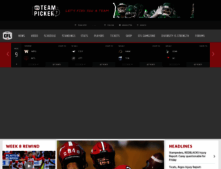 cfl.ca screenshot