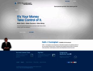 cfoscoreboard.com screenshot