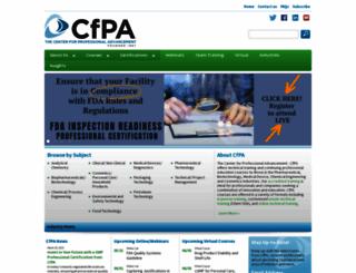 cfpa.com screenshot