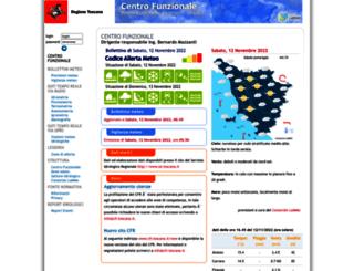 cfr.toscana.it screenshot