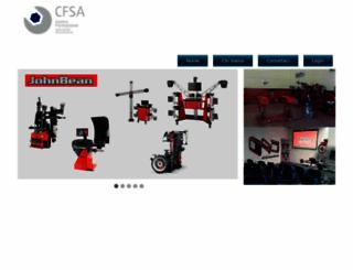 cfsa-forniture.it screenshot